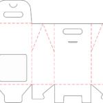 Готовые штампы Капитал Принт. К-02 Коробка с окном