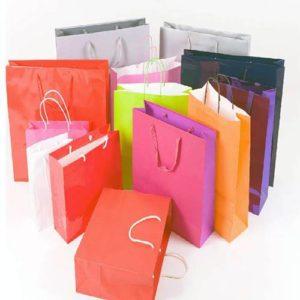Бумажные пакеты с логотипом от Капитал Принт
